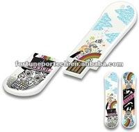 skateboard pen usb flash drive