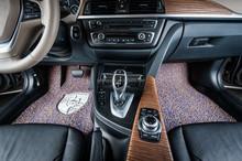 PVC crystal coil car mat