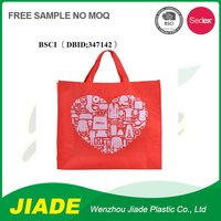 Made in China superior quality green spun shopping bag