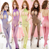 Japanese Open Chest Nude Women Hot Sell Sexy Transparent Body Stocking