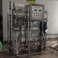 Factory provide solar power/generator of 5 000L/h reverse osmosis Water treatment plant