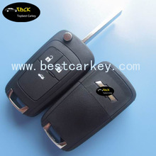 High Quality 3 buttons car remote key for remote key chevrolet HU100 blade