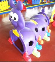 Children indoor playground animal tunnel ,Kids toy plastic climbing tunnel