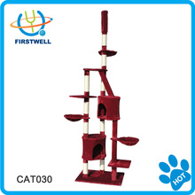 New cat scratcher tree with removable top