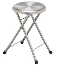 high quality brushed stainless steel morden folding chair for hotels restaurant office home garden LQ-ZD001