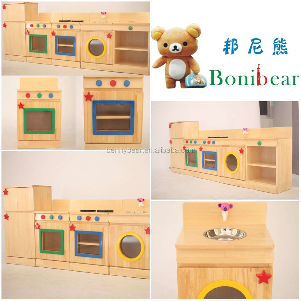 Children Wooden Role Play Kitchen Furniture Toy Buy Wooden Kitchen Toys Real Kitchen Toy Role