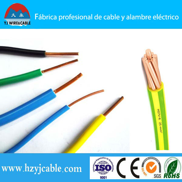 Pvc Insulated Copper Core Wire Bv 1.5mm 2.5mm 4mm 6mm 10mm 16mm ...