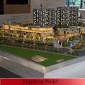 Hermosa artificial modelo arquitectónico que hace