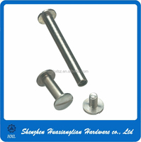 Stainless steel binding post male and female screw with high precision