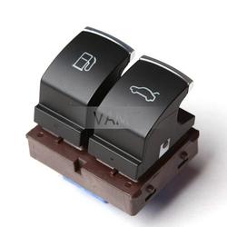 New genuine VW chrome fuel tank switch,trunk/luggage button for Passat B6 B7 CC,35D 959 903