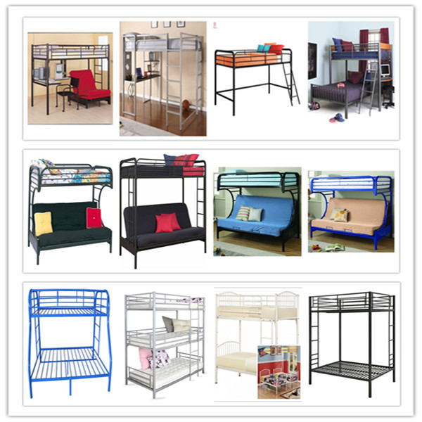 Single Double Queen Size Latest Metal Bed Designs In Wood