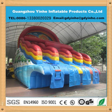2015 Commercial Grade Giant Inflatable water slide for water pool