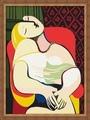 30 * 40 cm pintura abstracta pablo picasso, pintura diy by número
