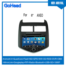 For Chevrolet Spark AVEO DVD GPS Android Navigation Quad Core USB SD Radio MP5 Wifi 3G RDS DVR OBO Mirror Link 1080P