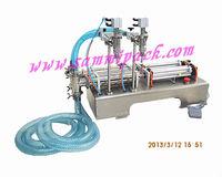 Double Head Liquid Filler(100-1000ml) for shapoo,shower gel, liquid detergent