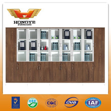 2015 Latest design wooden office filing cabinet with bookshelf HY-W611