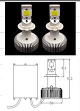30W high power 11-14V AC/DC 3200LM led automotive light bulbs headlight