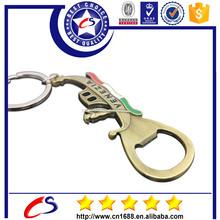 Promotional custom bottle opener keyring with design your own bottle opener