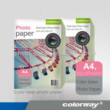 A4 A3 double sided matte laser photo paper double sided photo paper for color laser printer