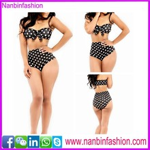 nanbinfashion two pcs bowknot black beautiful sex girl bikini
