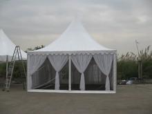 5x5m garden canvas gazebo canopy