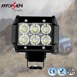 Small size 18w led driving light bar Heavy Duty LED LIGHT BAR 4inch off road bar light
