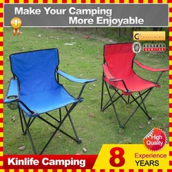 The Most Comfortable Potable 3 Peieces Set Camping, Fishing, Barbecue Folding Chair and Table with Armrest