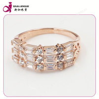 New fashion originality design shining square cz Gemstone energy ring in Sterling Silver