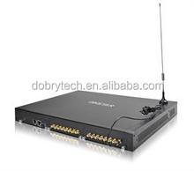 gsm voip goip gateway sip trunk to asterisk ip pbx, 16 channels 16 sim cards gsm gateway. gsm gateway GOIP16 port