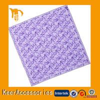 Screen printed soft feeling handkerchief alibaba express dresses