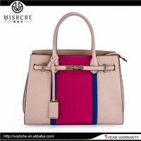 Wishche Wholesale New Products Best Selling PU Leather Designer Handbags 2015 Handbags Satchel Bags For Women Fashion Bag W080