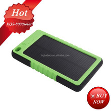 mini usb solar panel charger ,8000mah solar POWER BANK