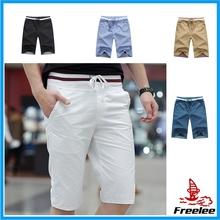 FREE SAMPLE 2015 hot sale cotton mens shorts,board shorts