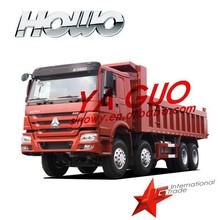 SINOTRUCK HOWO7 EURO240 TON 371HP 8X4 HEAVY LHD & RHD DIESEL DUMP TRUCK