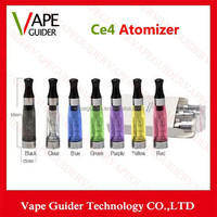 E Cigarette Colorful Ego CE4,1.6ml Capacity With Long Wick 8 Colors Suit For All Ego-t Ego w Battery E cigarettes Vaporizer Ce4