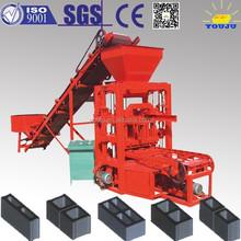 Cement block making machine QTJ4-26C semi-automatic brick making machine hot sale in Africa with service centers