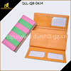 3 fold long old fashion wallets PU leather wallet