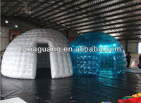 Popular outdoor activity igloo inflatable clear tent inflatable igloo tent