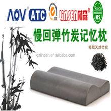 2014 wholesale price LinSen memory foam car bamboo seat cushion