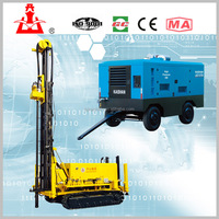 200m crawler water drilling rig machine KW20