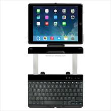 mini USB charging 9.7 Inch wireless Bluetooth Keyboard For iPad Air with 360 Degree Rotating folding bluetooth flexible keyboard