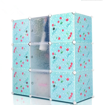china wholesale eco-friendly plastic assemble wardrobe manufactures direct