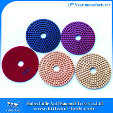 Flexible Wet Diamond Polishing Pads 4 Inch For Stone