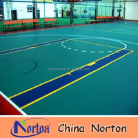 indoor basketball court pvc flooring vinyl sports flooring NTF-PS017B