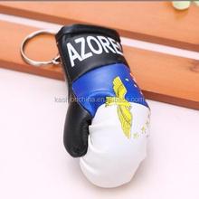 Brand new high quality pendant gift boxing glove keychain,custom boxing glove keyring
