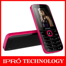 IPRO 2.4 Inch GSM Dual SIM FM Radio With Torch Low Price Wholesale Mobile Phone Flashlight Celulares I324F Cheap Feature Phone