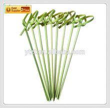 "Factory direct selling"" eco-friendly stocked decorative glitter floral picks for Skewered Foods"