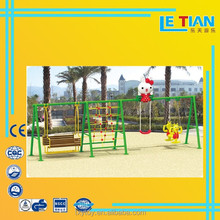 Outdoor playground swing and slide,kids seing ,outdoor equipment slide and swing for sale