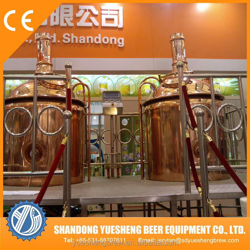 Red copper beer brew kettle craft beer brewing equipment for Craft kettle brewing equipment
