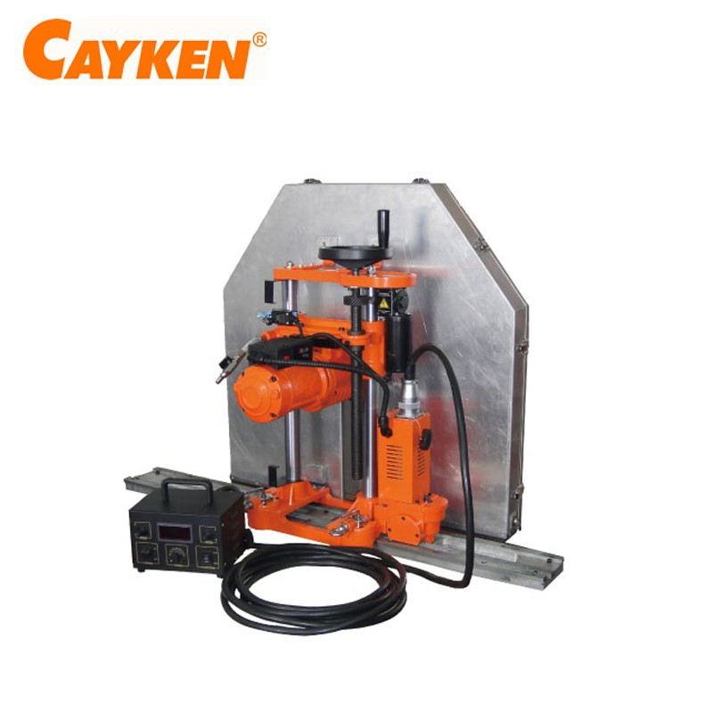 Wall Electric Masonry Saw : Cayken automatic feeding and cutting concrete wall saw